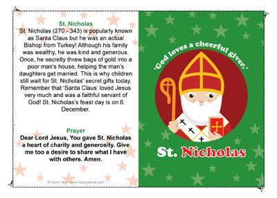 We'll be celebrating St. Nicholas Day at our parish on Friday evening, and my children have been so excited! I let them take a peep at my Catholic Advent crafts for kids and they wanted to make some special crafts to get ready! Saint Nicholas Chocolate Coins Supplies You'll Need White card stock Chocolate Coins …