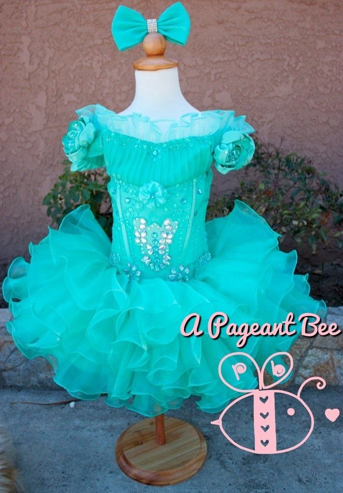 17  ideas about Toddler Pageant Dresses on Pinterest  Glitz ...