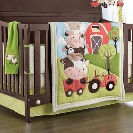 Buy 'McDonald's Farm' 6-Piece Crib Set Online & Reviews