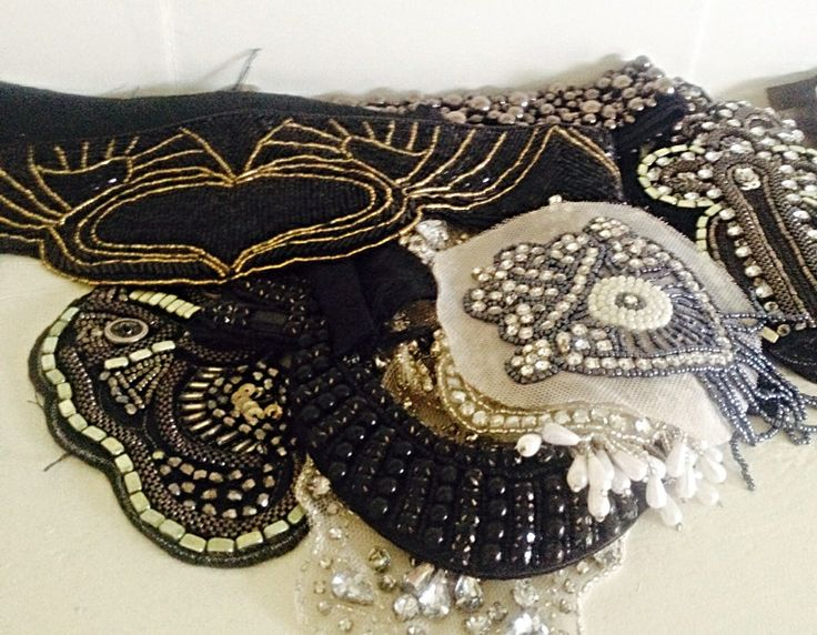 Vintage inspirations & beaded trims