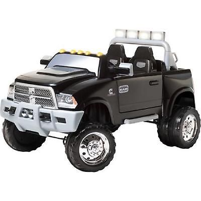 12v Battery Powered Ride On Kids Electric Jeep Car Truck Led Lights Ram Dually