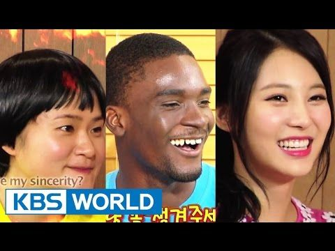 Happy Together - Hot People Special with Yura of Girl's Day, Sam Okyere ...