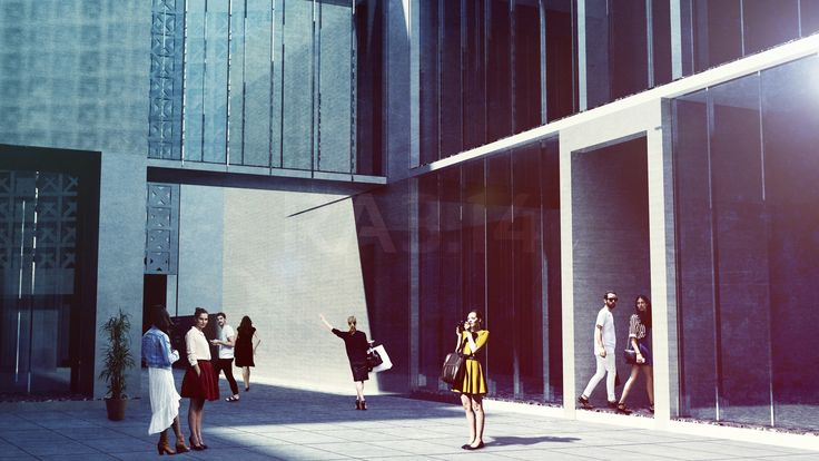 by RA3.14 Architecture & Interior Design | Fashion House Project | Rendering | Architecture Visualization