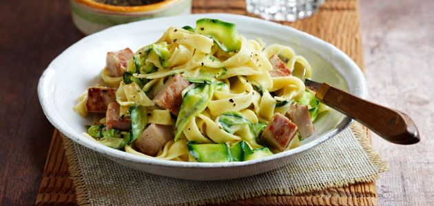 Pork & Courgette Pasta  Recipe - Sainsbury's
