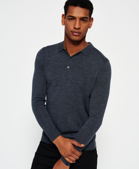 Superdry IE Premium Knitted poloskjorte