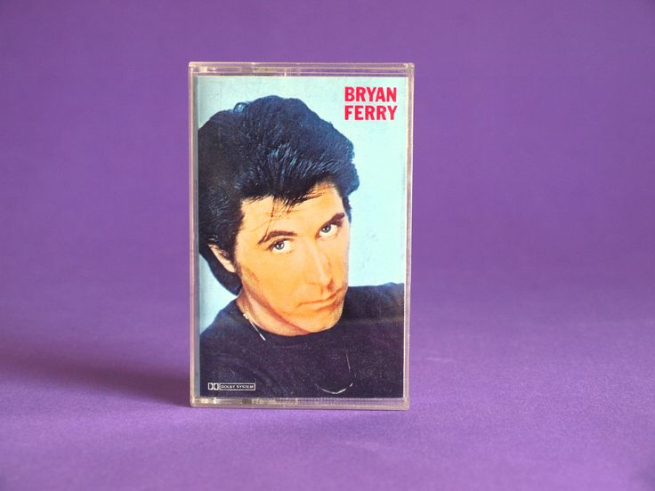 Bryan Ferry These Foolish Things Cassette Tape - 1984 Reissue 1973 EG Records Ltd Classic Hifi Covers by FunkyKoala on Etsy