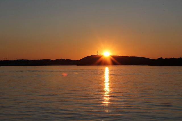 Sunset in Kuopio by VisitLakeland, via Flickr