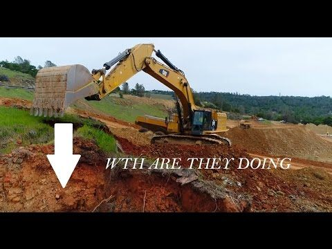 Oroville Dam UPDATE 4/7/2017 6:39 PM Weather,RAIN New Drone Footage