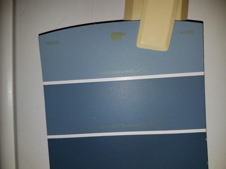 Vanity Behr N480b French Colony Adirondack Blue Nypd