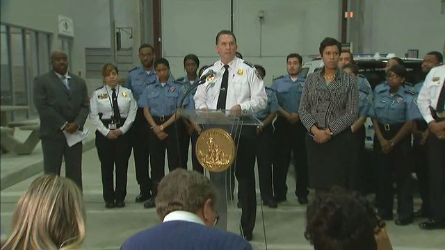 While announcing the arrest of a man suspected in the murder of a woman in D.C., Acting Metropolitan Police Chief PeterNewshamand D.C. Mayor Muriel Bowser held to their policy that the District would not enforce U.S. civil immigration laws.