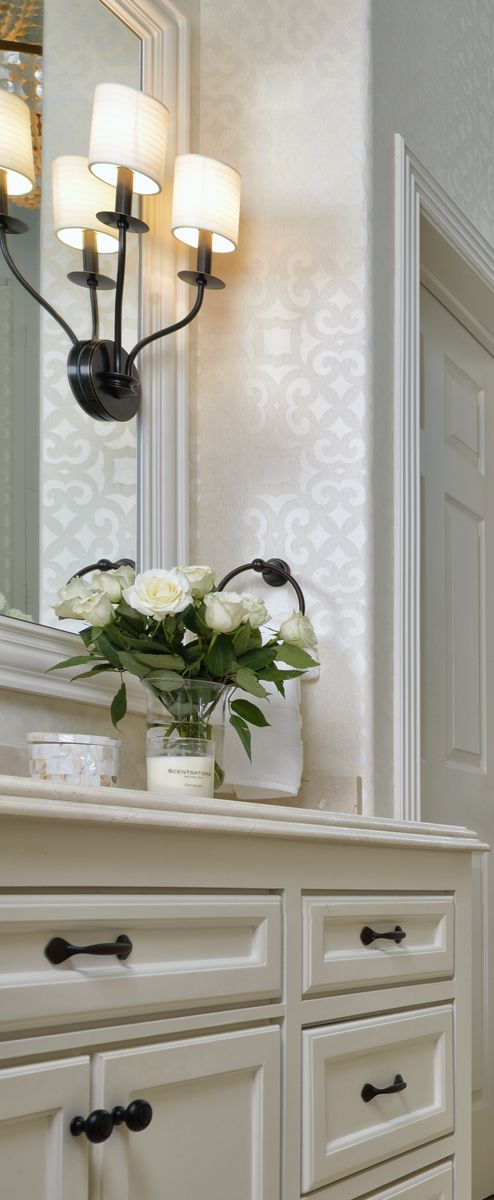 Best 25 Bathroom Wallpaper Ideas On Pinterest Half Bathroom Wallpaper Powder Room And Small Bathroom Wallpaper