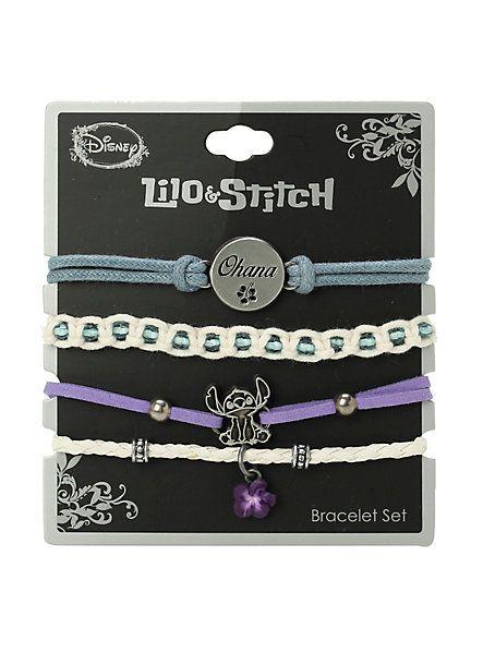 Disney Lilo & Stitch Ohana Bracelet 4 Pack | Hot Topic