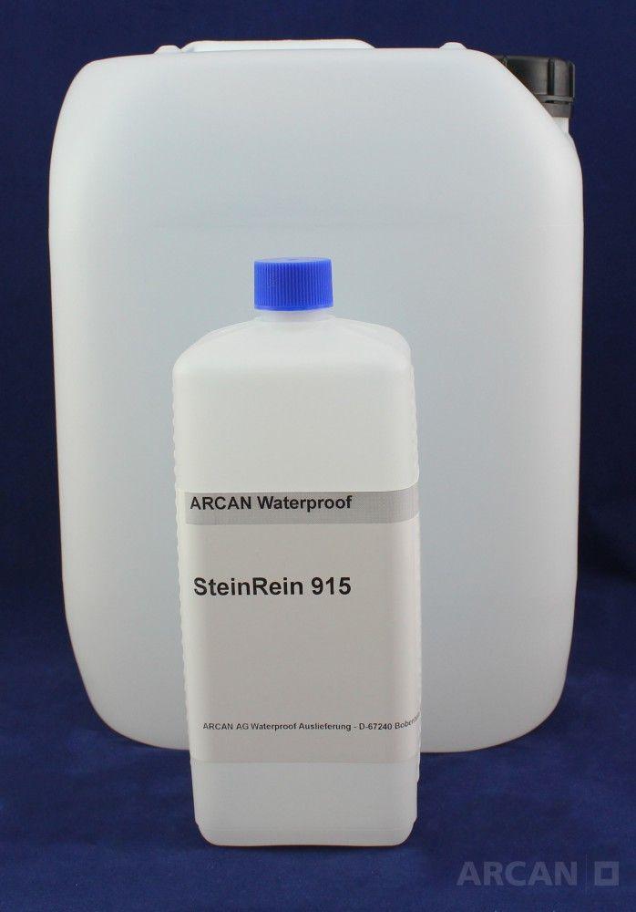Stein Rein 915 – hochwirksames Reinigungskonzentrat (10 kg) » Reinigt Naturstein, Beton und Fassaden und die Felgen Ihres PKW so ...
