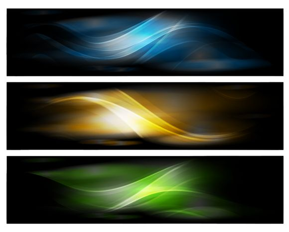 Abstract Design Banners Vector Background   Free Vector Graphics   All Free Web Resources for Designer - Web Design Hot!