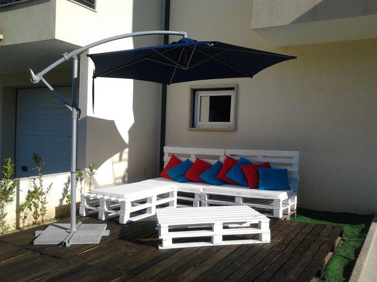 17 best images about pallets para um terra o de sonho on for Sofas para patios