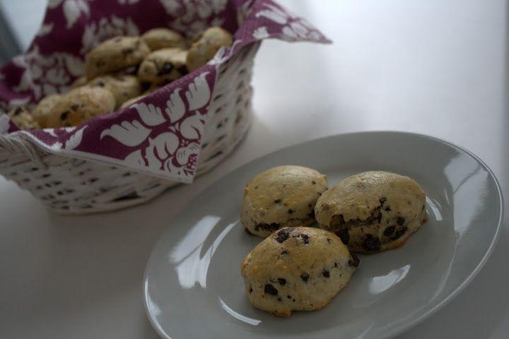 Scones med chokolade - Opskrift på lækre chokoladescones