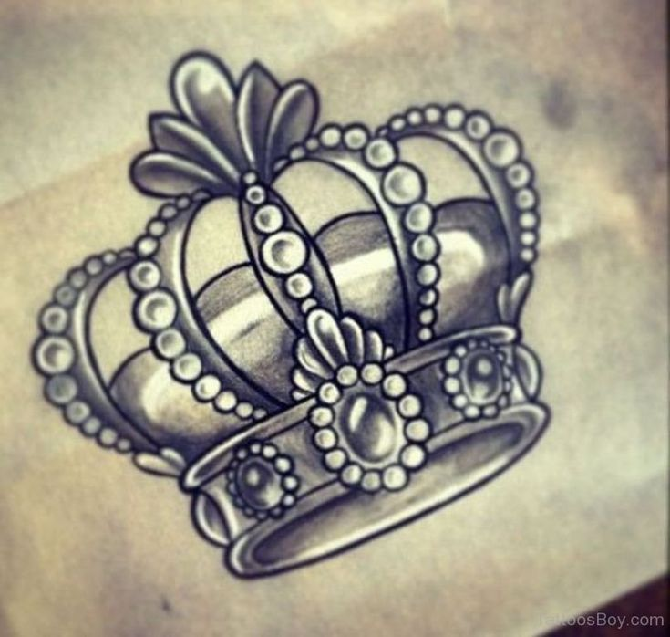 Best 25+ Crown Tattoos Ideas On Pinterest