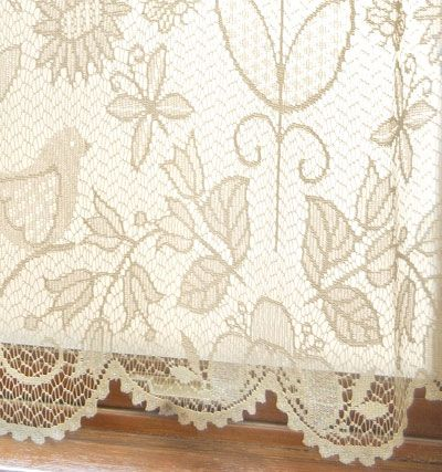 1000+ images about Lace Curtains Ready Made, Valances and Tiers on ...