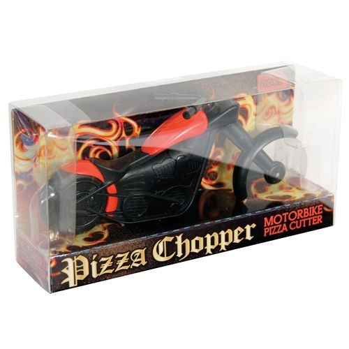 Pizza Chopper Motorbike - Novelty Kitchen Gadget