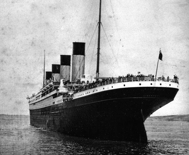 The Titanic leaves Southampton.
