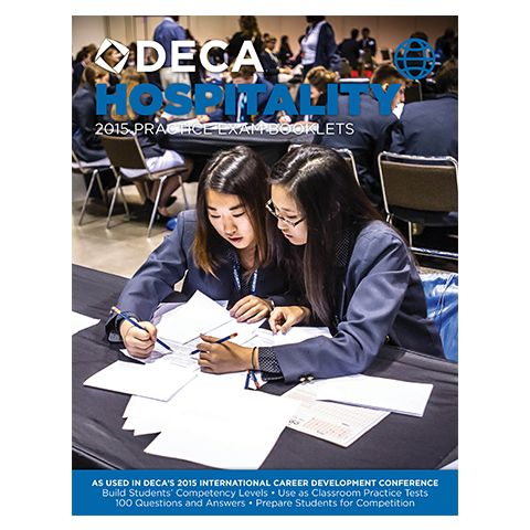 2015 Career Cluster Exams - Digital Download from DECA Images