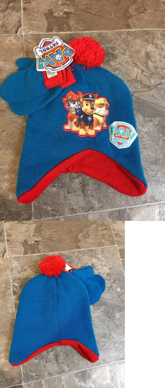 ef63471c30b Boys Accessories 57881  Brand New Paw Patrol Hat And Mittens Chase Marshall  Rubble Toddler One Size Most -  BUY IT NOW ONLY   11.49 on  eBay   accessories ...