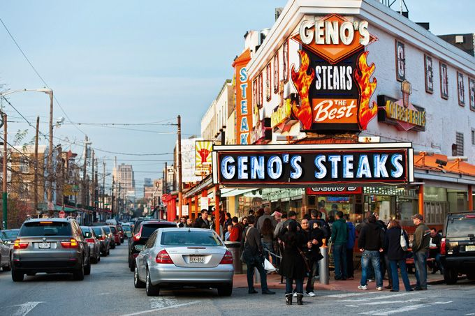 Geno's Steaks in Philadelphia's East Passyunk (Photo by J. Fusco for GPTMC)
