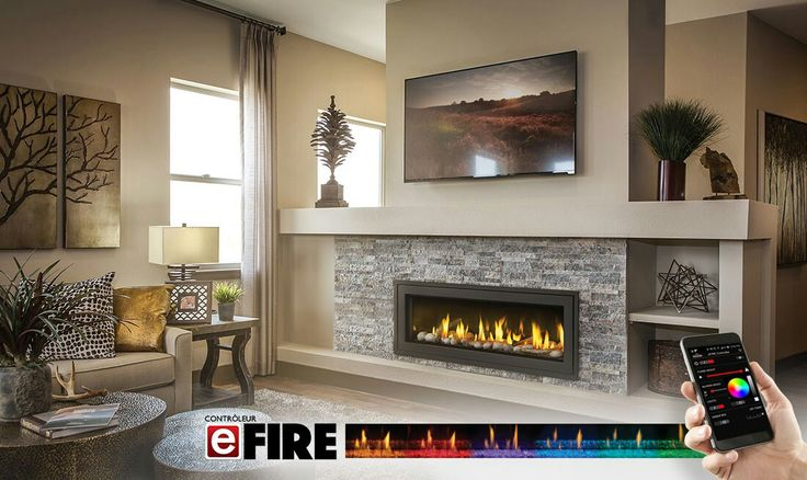 446 Best Linear Fireplaces Linear Contemporary Images On