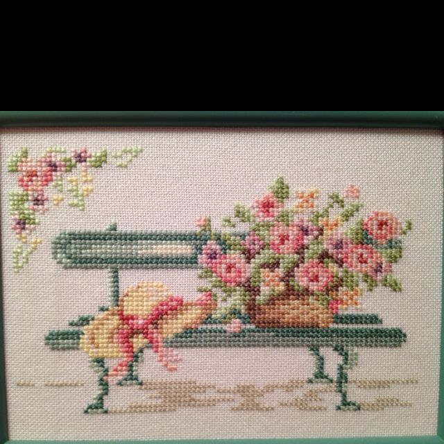 Follow me on Pinterest.Counted cross stitch.