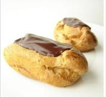 Recette - Eclairs au chocolat noir sans gluten et sans produits laitiers - Notée 4.1/5 par les internautes