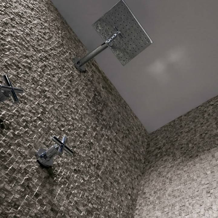 Πλακάκι σε αποτύπωση πέτρας για το μπάνιο σας. Μάθετε περισσότερα στο www.kypriotis.gr #kypriotis #kipriotis #plakakia #anakainisi #athens #ellada #greece #hellas #banio #dapedo