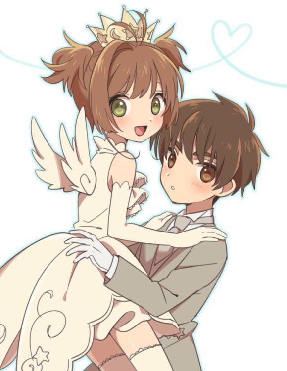 Sakura and Syaoran, my childhood OTP <3