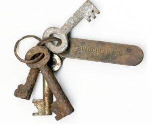 Titanic keys  that could have saved the ship. The keys were in the possession of second officer David Blair, who forgot to pass them on to the person who ended up replacing him on the Titanic's voyage. As we all know, thanks to James Cameron, no one was able to get to the binoculars, and as a result the ship met an untimely fate at the sharp edges of an iceberg.
