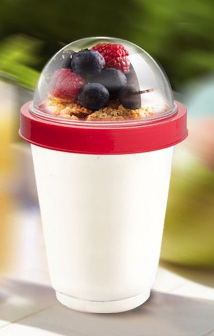 Reusable Yogurt To Go Cup Add Your Own Fruits Amp Granola