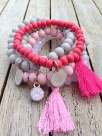 Set Indian Pink
