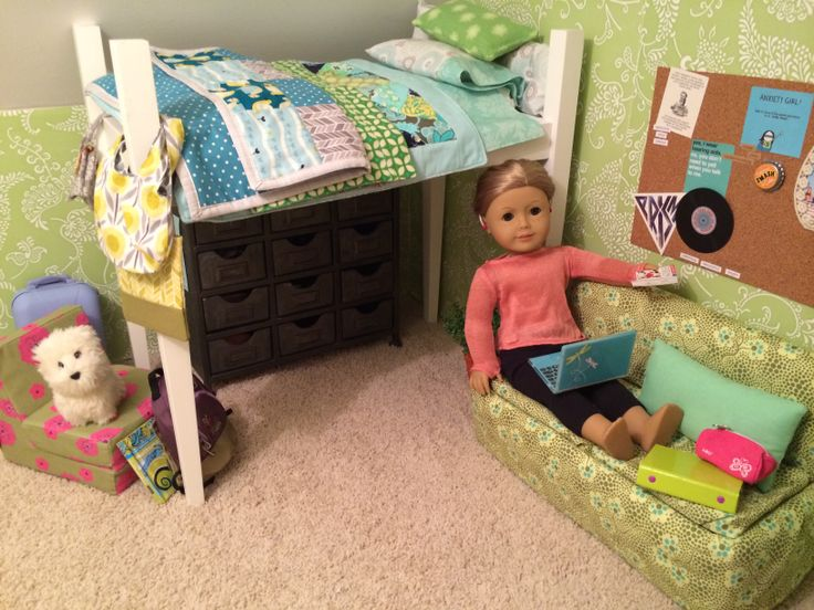 128 best diy bedroom ideas and inspiration american girl for American girl doll bedroom ideas