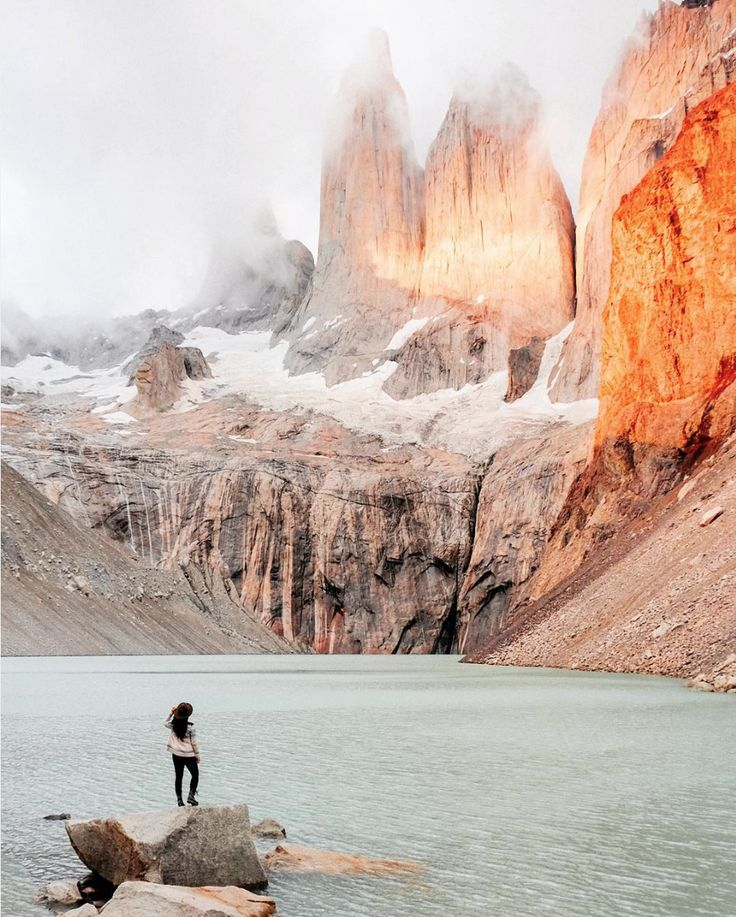 Hiking in Torres del Paine #Chili #Outdoor