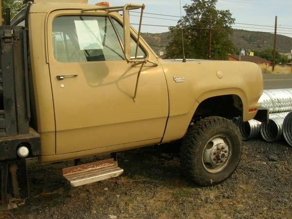 1974 Dodge Diesel W300 Power Wagon Dually (Yreka) $6000: < image 1 of 6 > 1974 Dodge W300 Power Wagon fuel: dieseltitle status:…