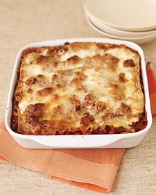 Healthy Meat Lasagne: Meat Lasagna, Pasta Recipes, Meat Sauces, Cottages Cheese, Comforter Food,  Pizza Pies, Martha Stewart, Lasagna Recipes, Healthier Meat