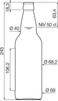 116 best hopfenmuller images on pinterest products for Beer bottle label size
