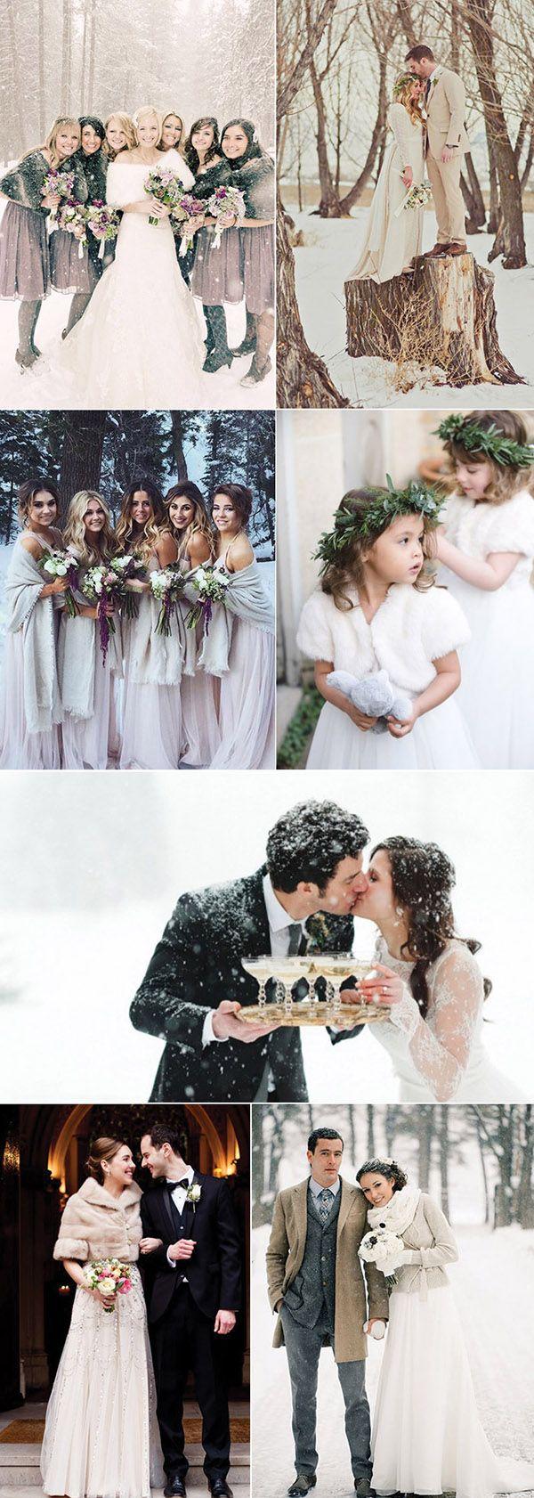 50 Brilliant Winter Wedding Ideas You'll Love