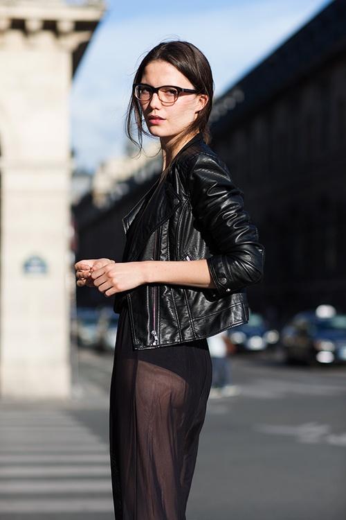 : Street Fashion, Fashion Shoes, Biker Jackets, Paris Chic, Street Style, Long Skirts, Leather Jackets, The Sartorialist, Geek Chic