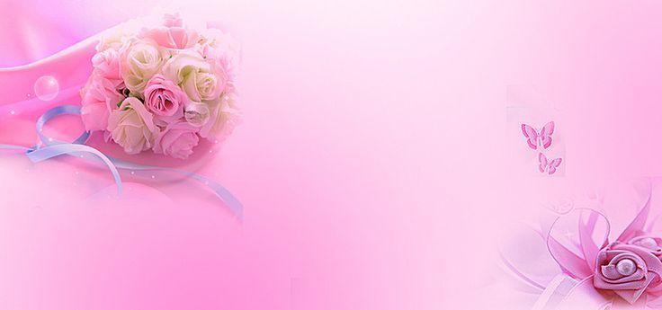 Картинка, фон для свадебной открытки розовый