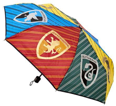 Barnes and Noble: Harry Potter School Simple Crest Umbrella