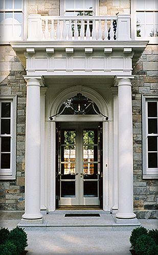 Firm Overview - Eric J. Smith Architect  This is exactly the entry I want for the front of the new house!
