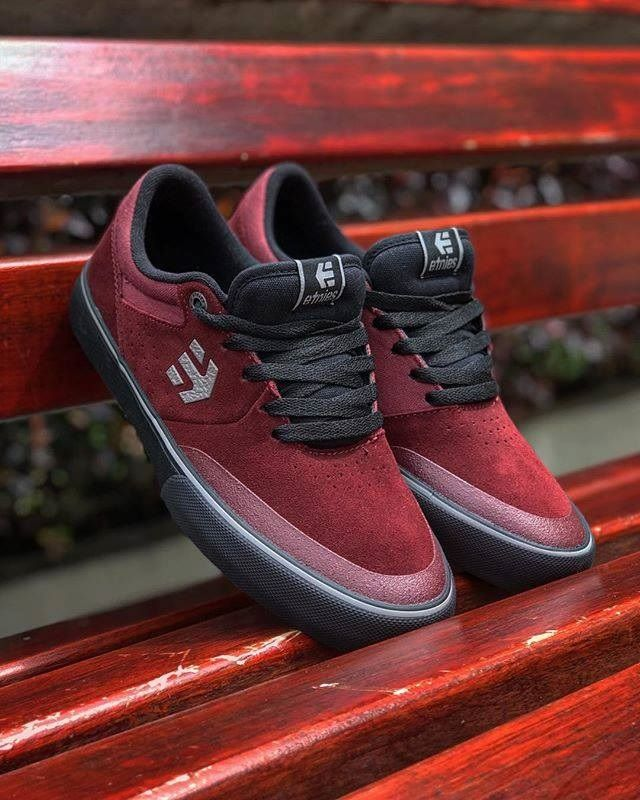 6566c93455 Etnies Marana Vulc Red Black Grey in 2019