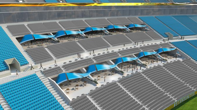 Club areas at EverBank Field