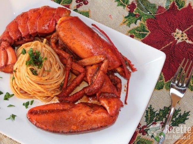 Spaghetti all'Astice in bellavista