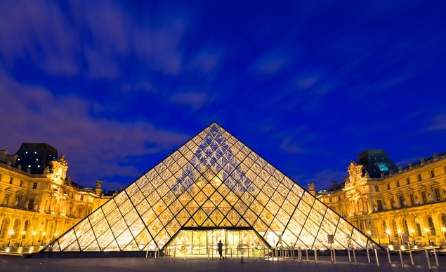 The #Louvre museum, in Paris, was once a fortress, then a palace, before it housed one of the world's most beautiful art collections. Next destination. #CityofLights here I come.