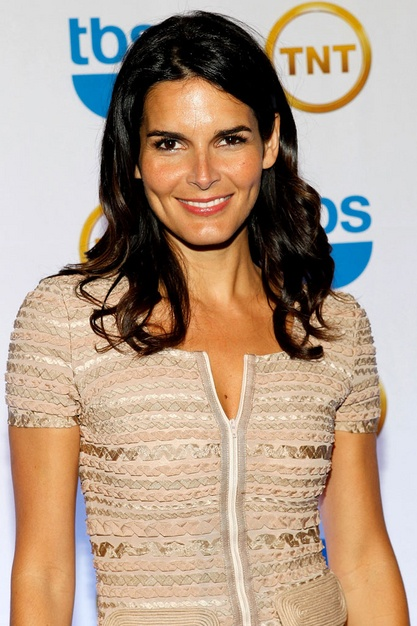 Angie Harmon: Brunette Obvious, Photo, Brunettes Obvious